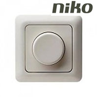 dimmers led niko. Black Bedroom Furniture Sets. Home Design Ideas