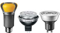 LED lamp zoals de LED AR111, LEDPAR 38 led, led tl, led kaars, led e27, led e14, led mr16, led gu4 en led gu10